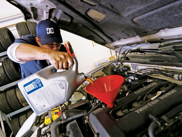 Change Oil  How Much Is An Oil Change